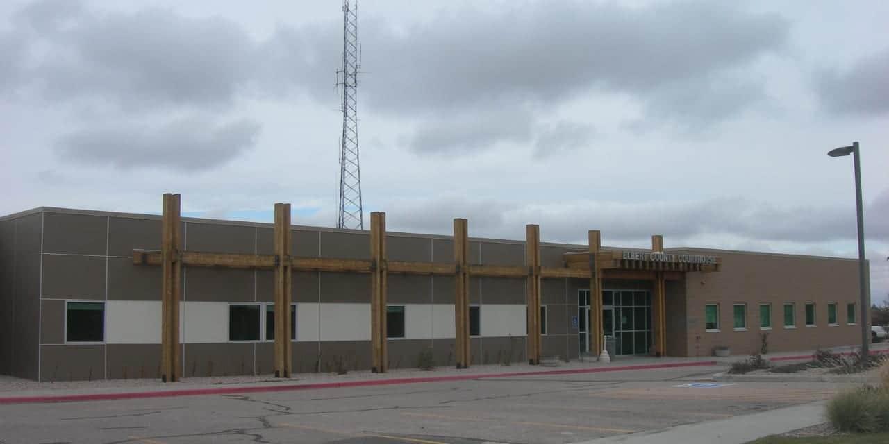 Elbert County Courthouse Kiowa Colorado