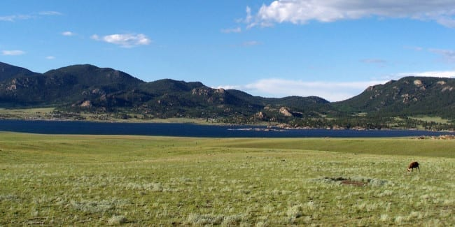 Eleven Mile Reservoir Park County Colorado