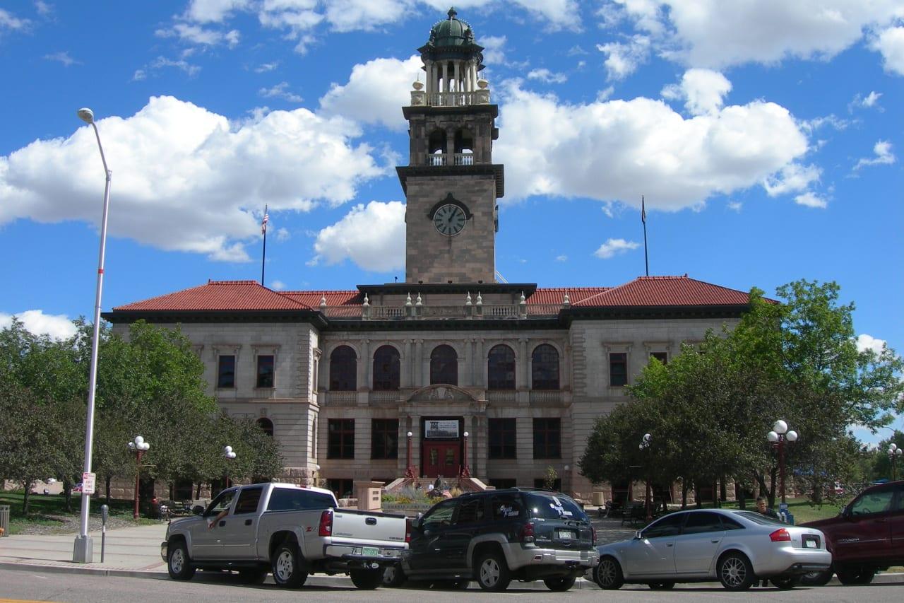 Former El Paso County Courthouse Colorado Springs
