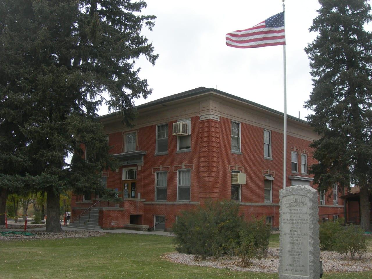 Former Elbert County Courthouse Kiowa Colorado