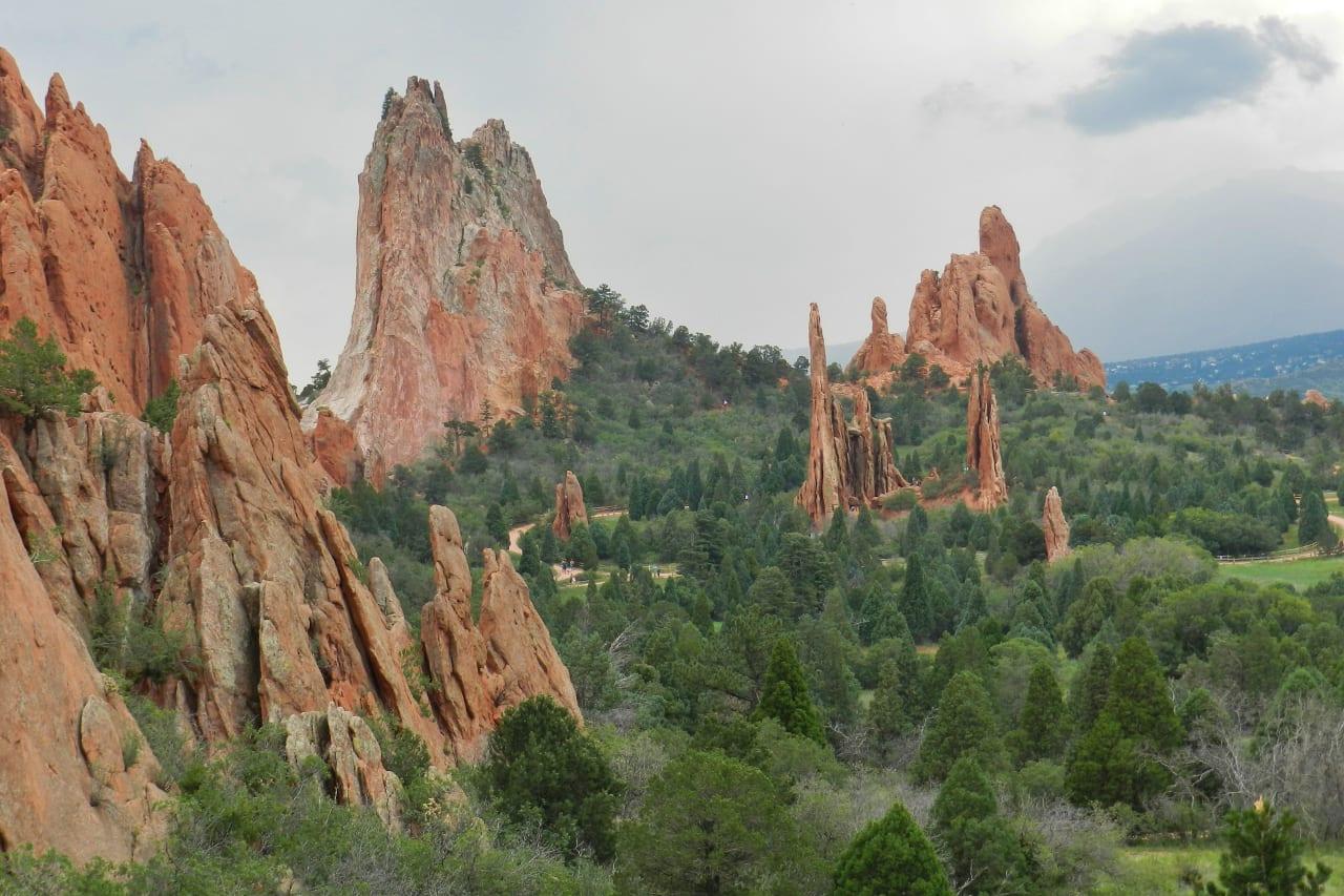 Exploring the springs 39 garden of the gods colorado travel blog for Garden of the gods colorado springs