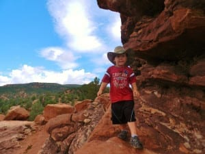 Garden Of The Gods Kid Hiking