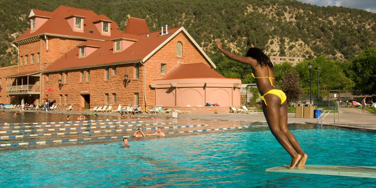 Glenwood Hot Springs Swimming Pool