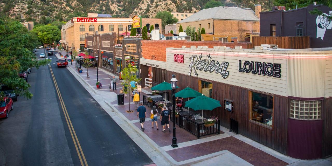 Glenwood Springs Colorado Seventh Street