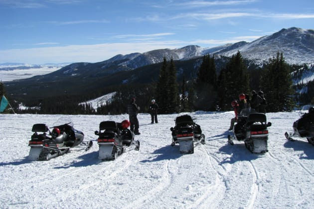 Breckenridge Snowmobile Tours