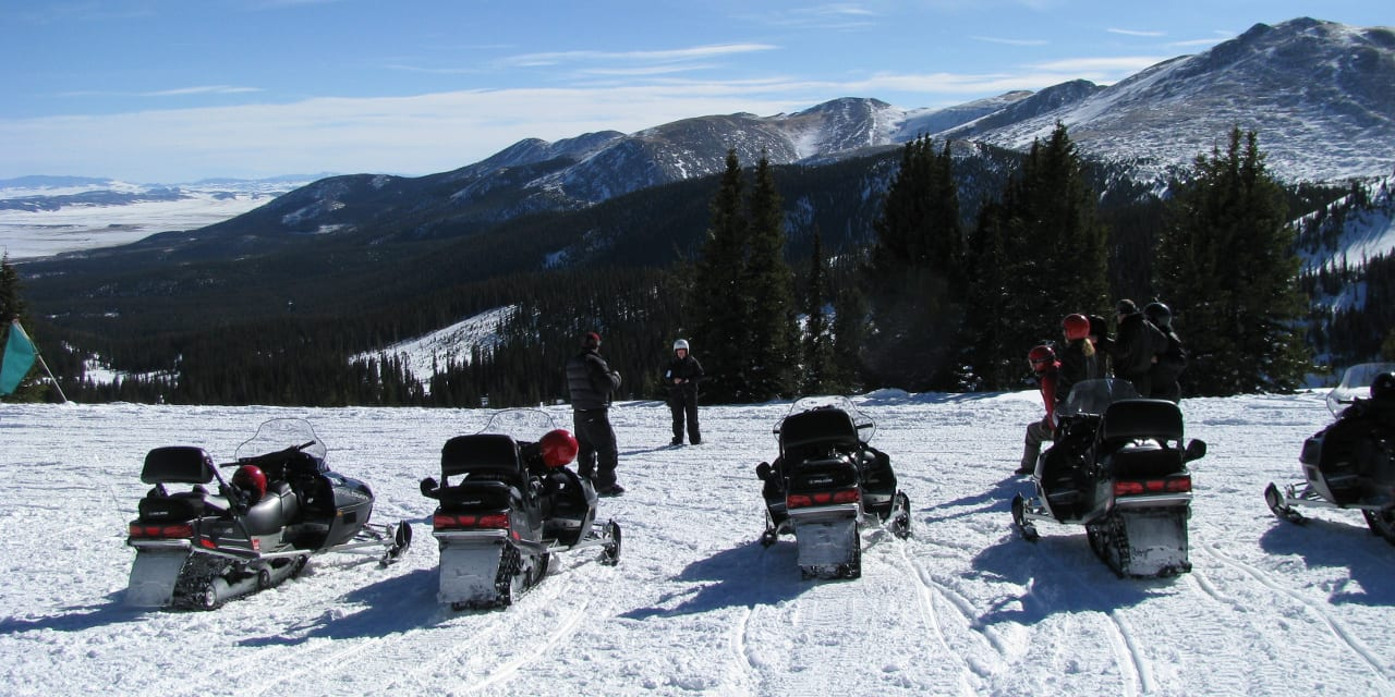 Good Times Adventures Snowmobiling
