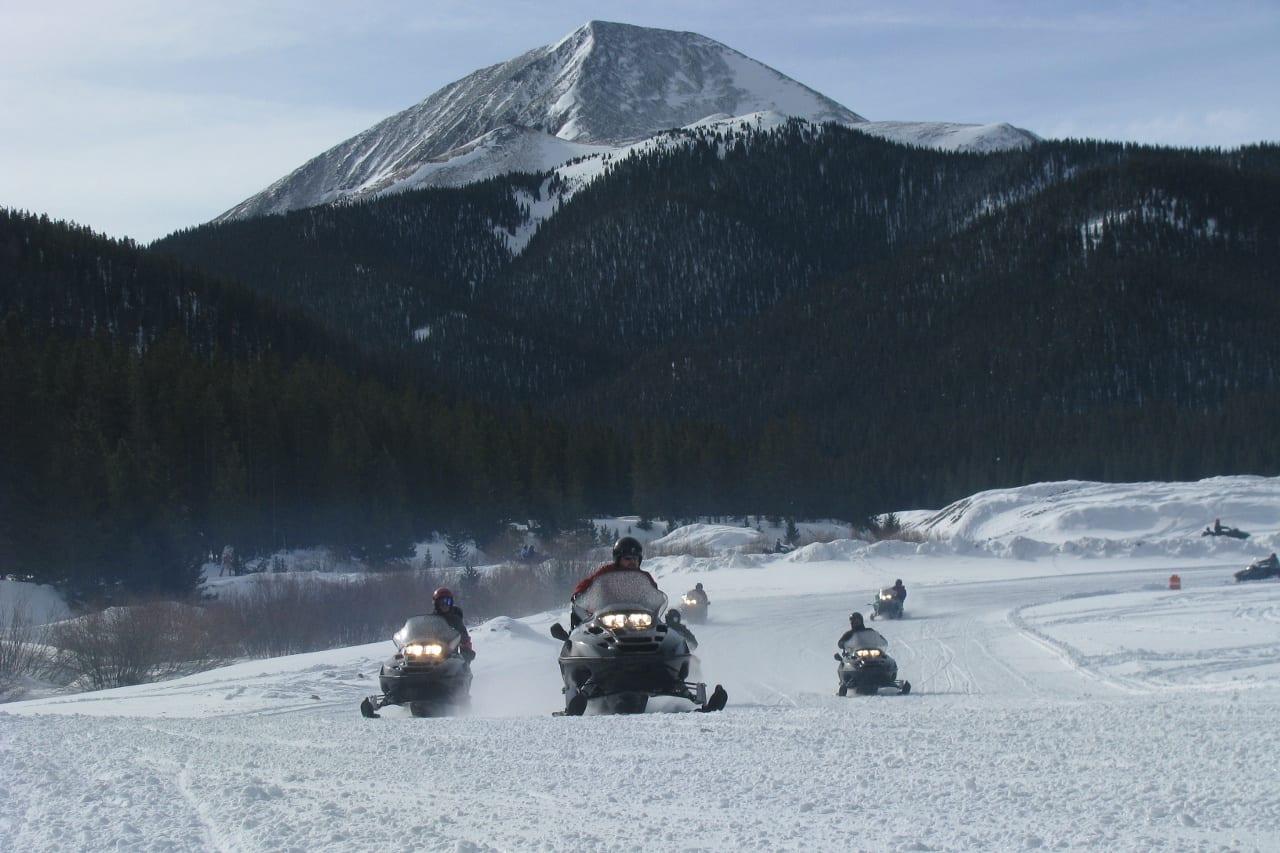Good Times Adventures Breckenridge Snowmobiling