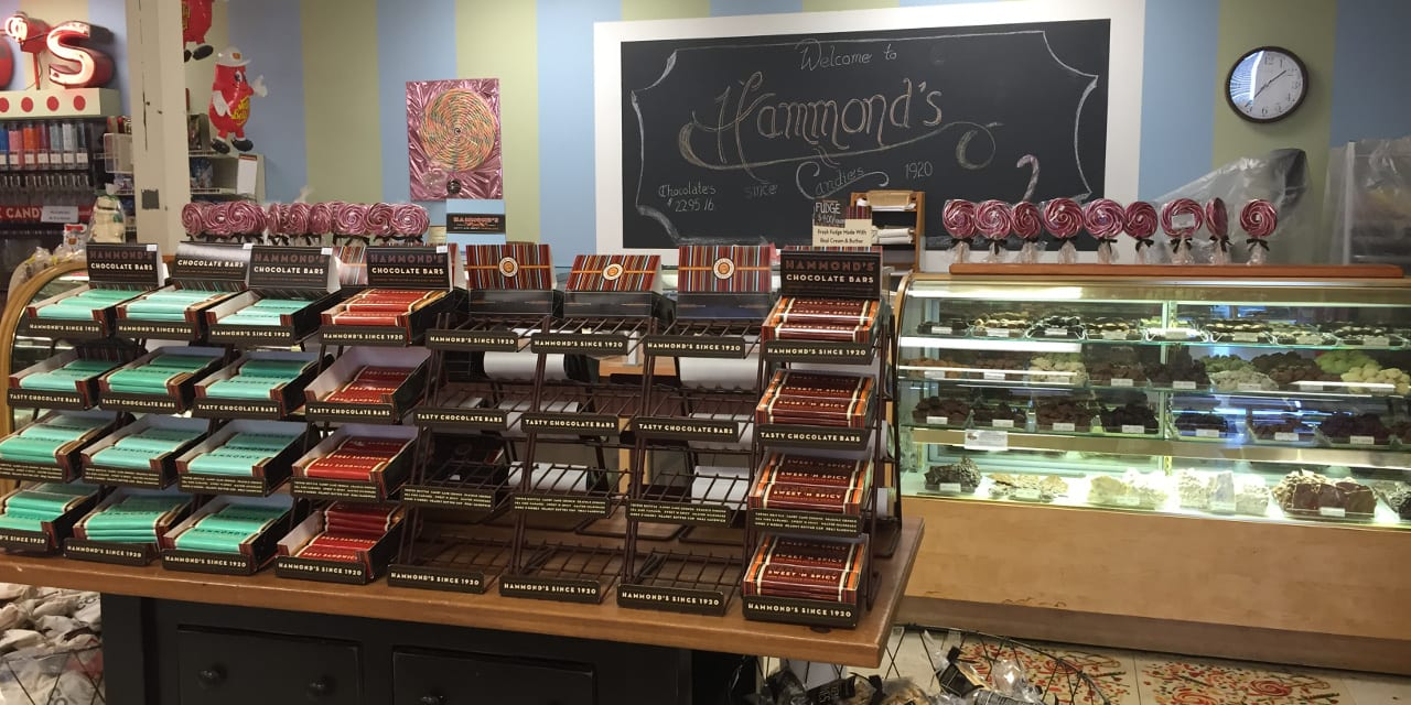 Hammond's Candies Denver Chocolates