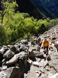 Hanging Lake Trail Boulders