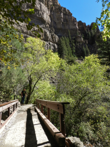 Hanging Lake Trail Bridge