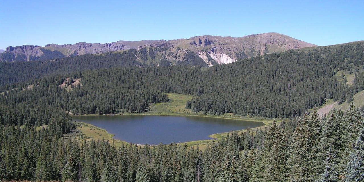 Heart Lake Hinsdale County Colorado
