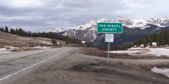 San Miguel County Highway 145