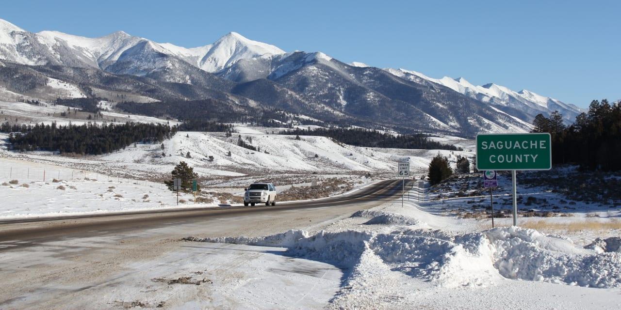 Saguache County Colorado Highway 285
