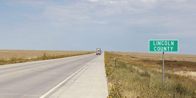 Highway 287 Lincoln County Colorado