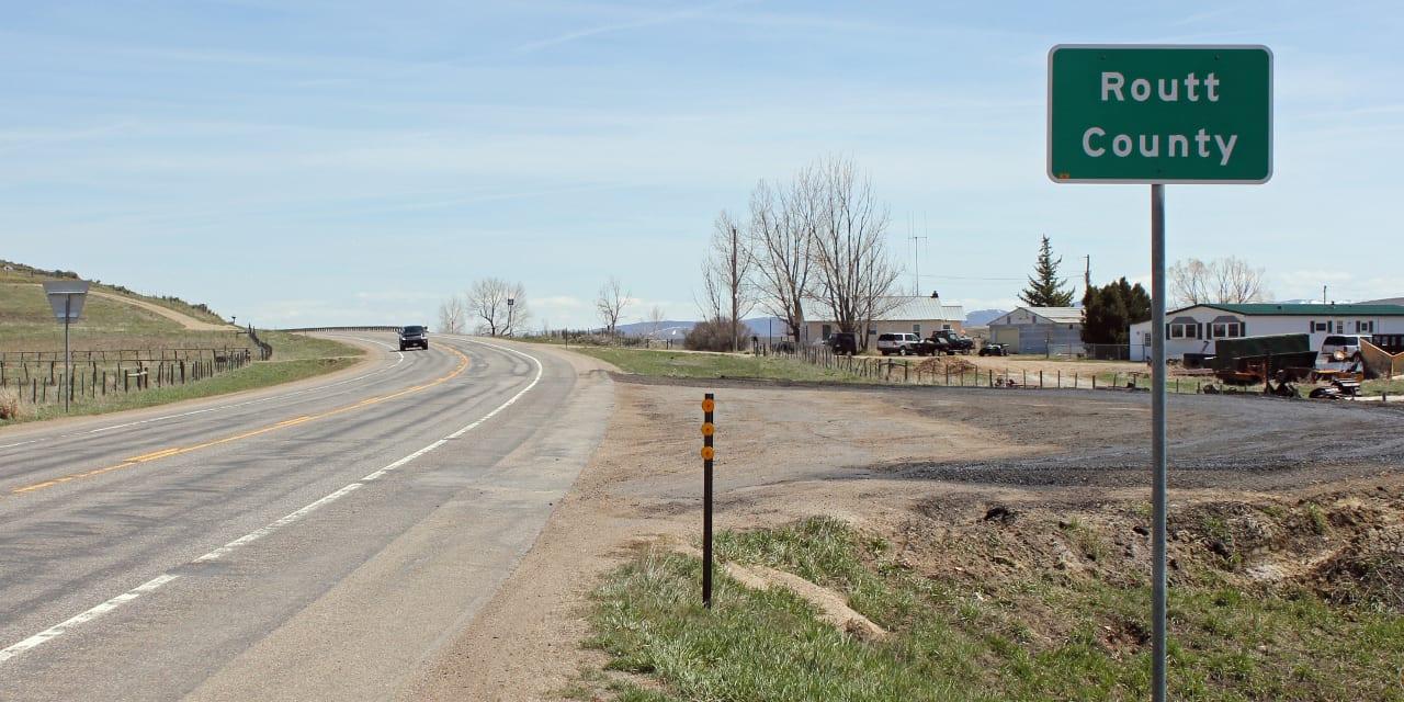 Highway 40 Routt County Colorado
