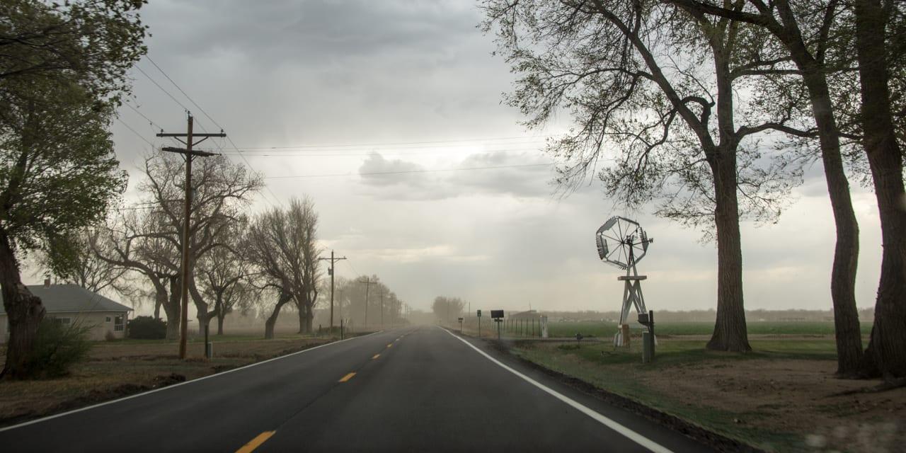 Otero County Colorado SR-194