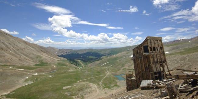 Mount Sherman Hilltop Mine Lake County Colorado