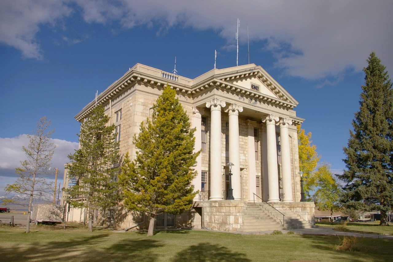 Jackson County Courthouse Walden Colorado