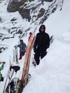 Kate Howe Ski Avalanche Training