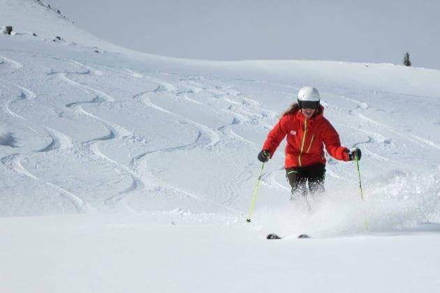Kate Howe PSIA National Ski Testing