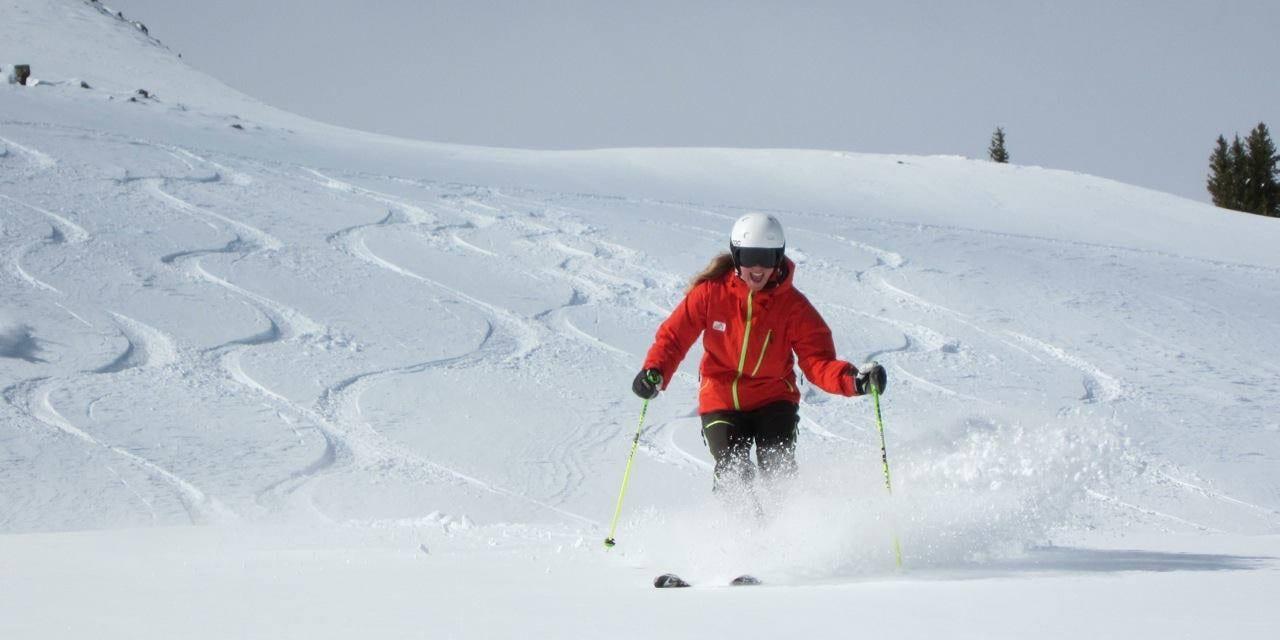 Kate Howe Skiing Snowbird