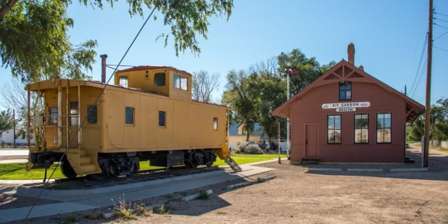 Kit Carson Museum Cheyenne County CO