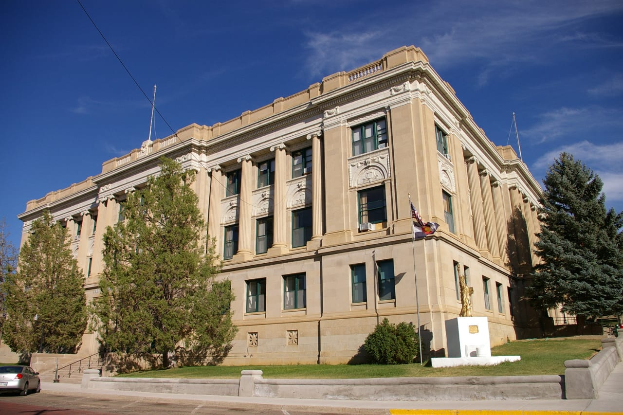 Las Animas Courthouse Trinidad Colorado