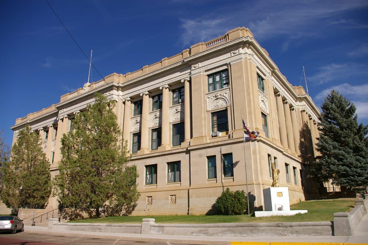 Las Animas Courthouse Trinidad Colorado