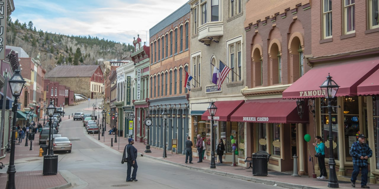 Downtown Central City Colorado