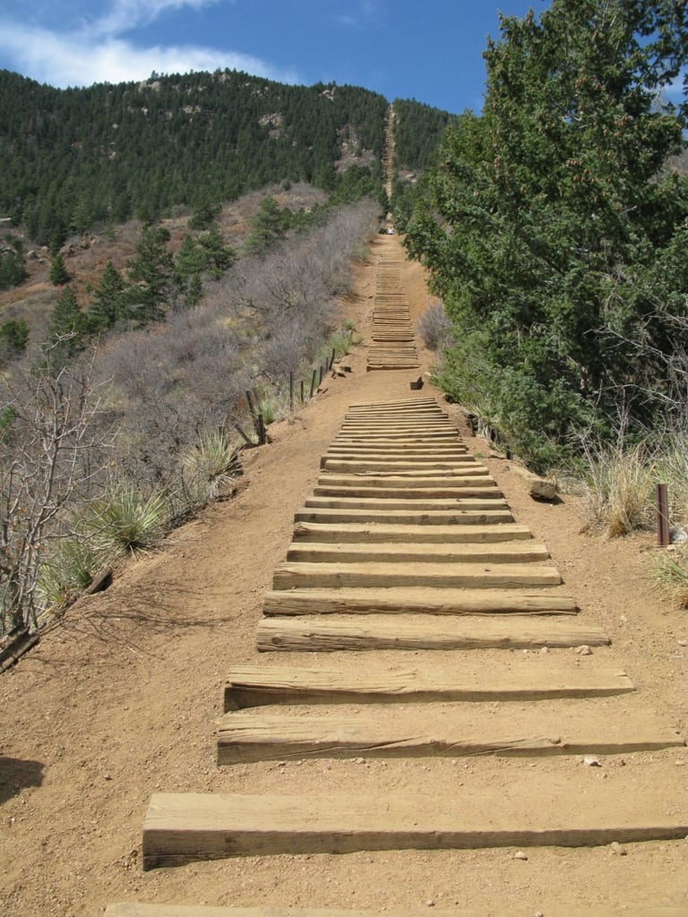 Manitou Springs Incline Steps