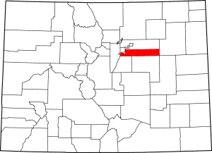 Arapahoe County Colorado Map