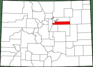 Arapahoe County Colorado Map