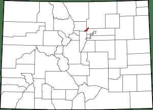 Broomfield County Colorado Map