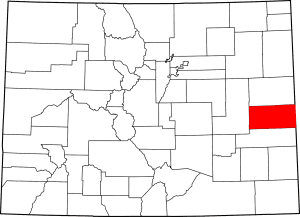 Cheyenne County Colorado Map