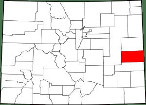 Cheyenne County Colorado Map