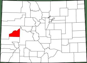 Delta County Colorado Map