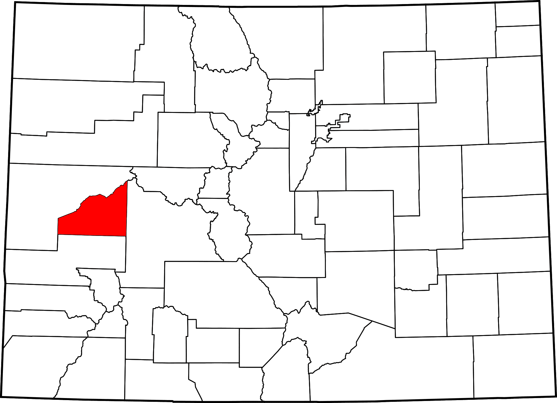 Delta County Colorado Map.Delta County Colorado Map Towns And History Of Delta Co