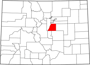 Douglas County Colorado Map