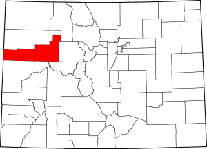 Garfield County Colorado Map