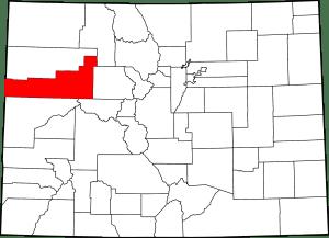Garfield County Colorado Map
