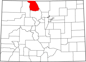 Jackson County Colorado Map