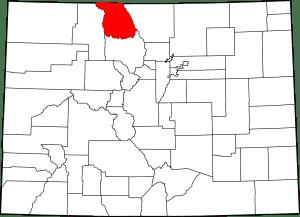 Jackson County Colorado Map