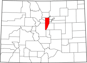 Jefferson County Colorado Map