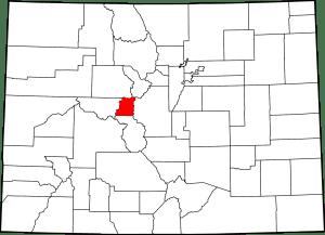Lake County Colorado Map