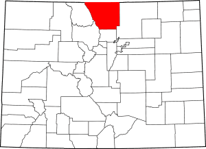 Larimer County Colorado Map