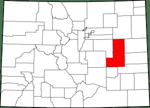 Lincoln County Colorado Map