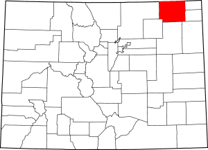Logan County Colorado Map
