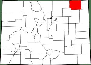 Logan County Colorado Map