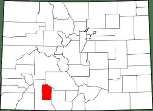 Mineral County Colorado Map