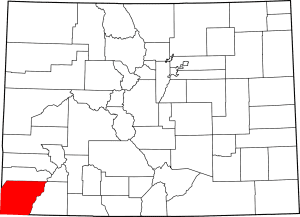 Montezuma County Colorado Map
